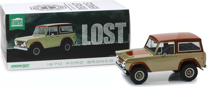 19057 - 1:18 Artisan Collection - Lost (TV Series, 2004-10) - 1970 Ford Bronco