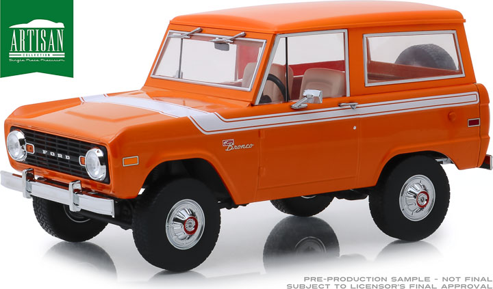 19058 - 1:18 Artisan Collection - 1977 Ford Bronco - Special Decor Group