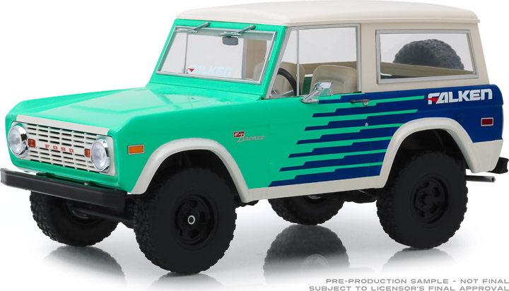 19070 - 1:18 Artisan Collection - 1976 Ford Bronco - Falken Tires