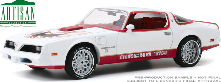 19081 - 1:18 Artisan Collection - 1978 Pontiac Firebird Macho Trans Am #11 of 204 by Mecham Design - White and Red
