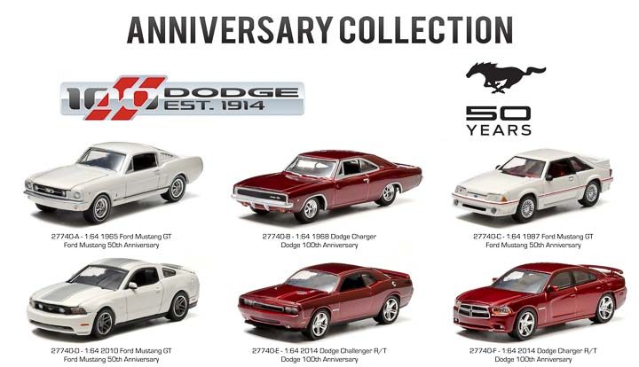 27740 - 1:64 Anniversary Collection Series 1