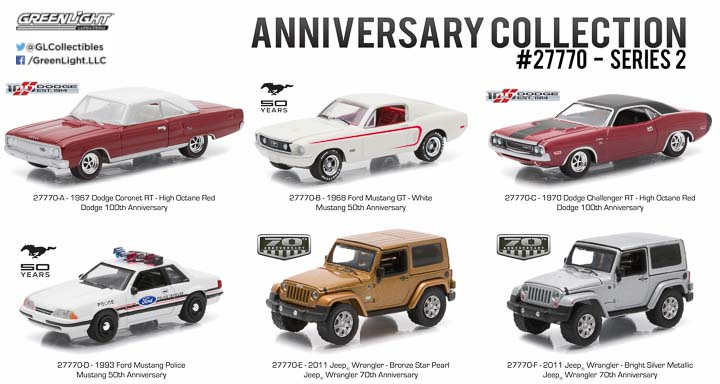 27770 - 1:64 Anniversary Collection Series 2
