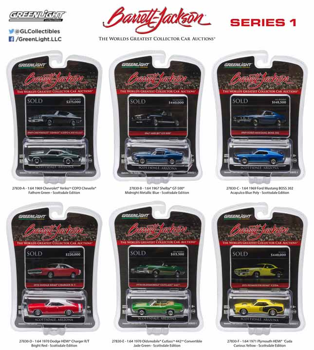 27830  1:64 Barrett-Jackson Scottsdale Edition Series 1