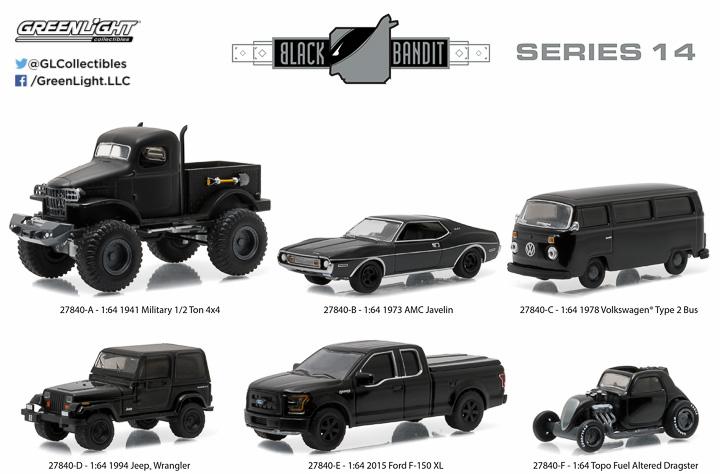 a456e6d4f Black Bandit :: GreenLight Collectibles