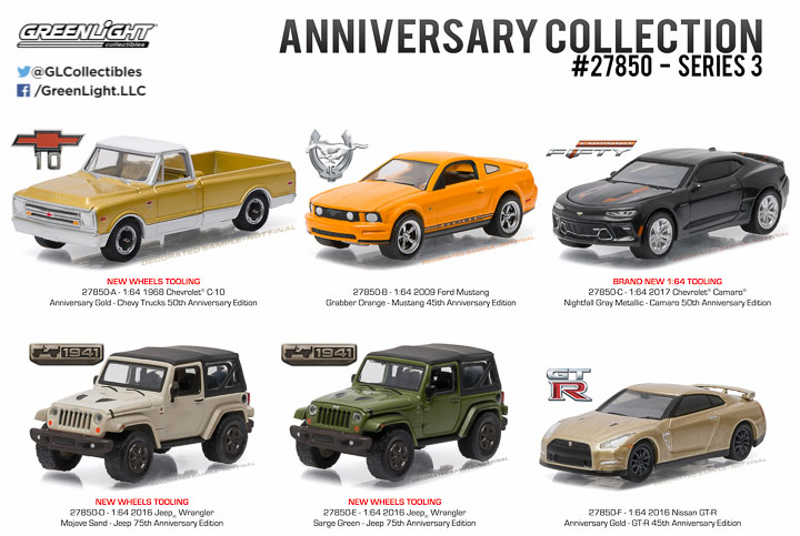 27850 - 1:64 Anniversary Collection Series 3