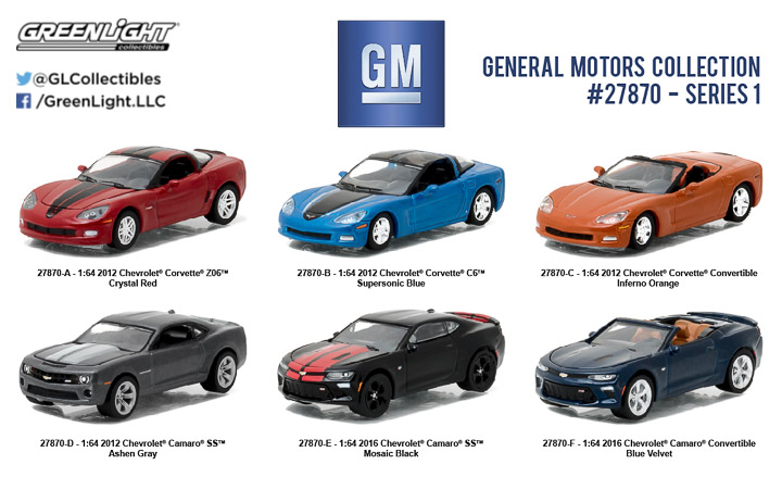27870 - 1:64 General Motors Collection Series 1