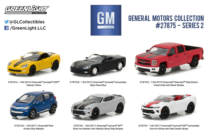 27875 - 1:64 General Motors Collection Series 2