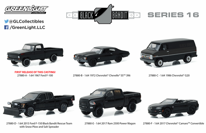 27880 - 1:64 Black Bandit Series 16