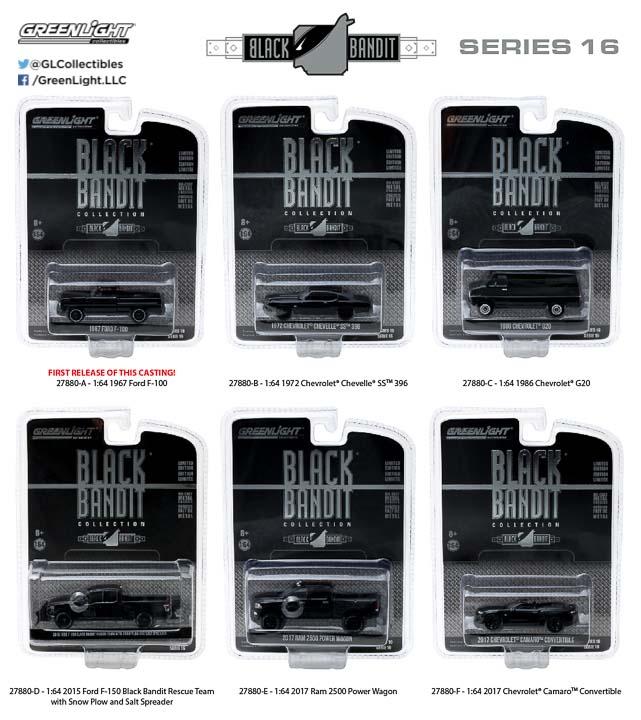 27880 - 1:64 Black Bandit Series 16