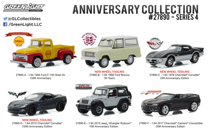 27890 - 1:64 Anniversary Collection Series 4