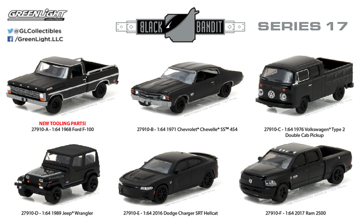 27910 - 1:64 Black Bandit Series 17