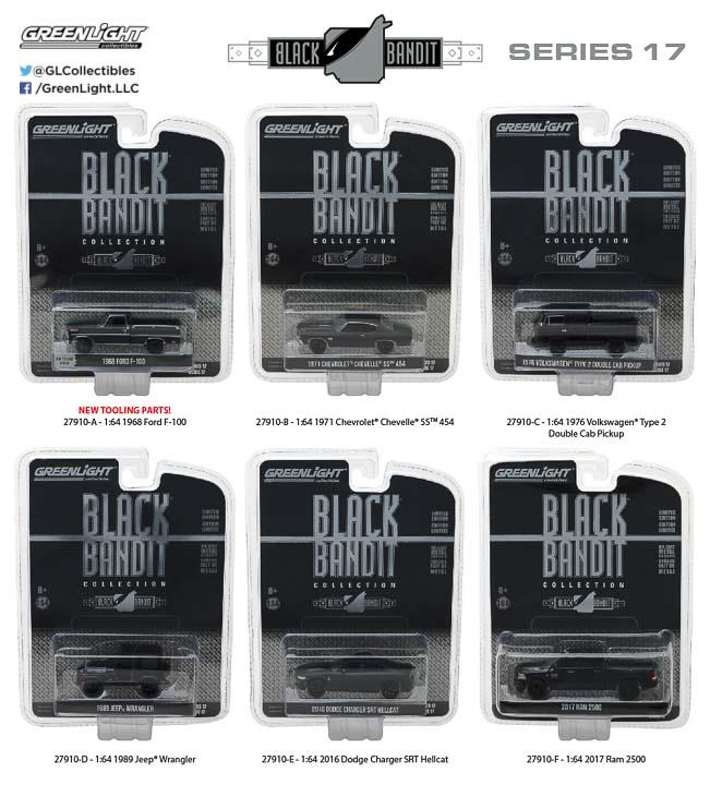 27910 - 1:64 Black Bandit Series 17