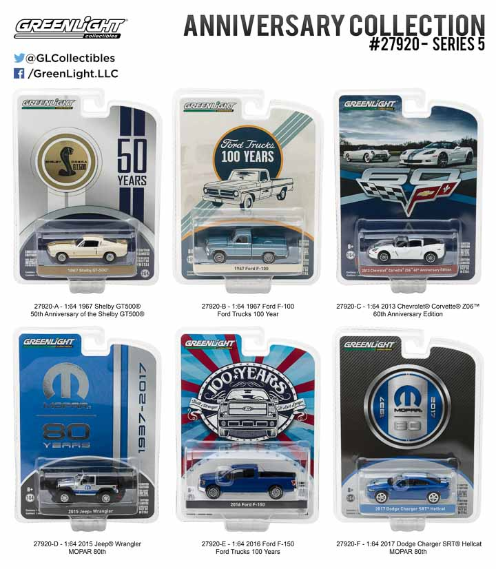 27920 - 1:64 Anniversary Collection Series 5