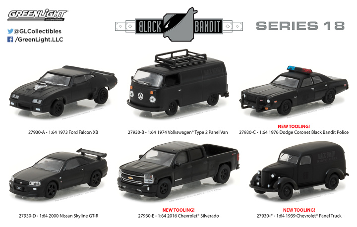 27930 - 1:64 Black Bandit Series 18