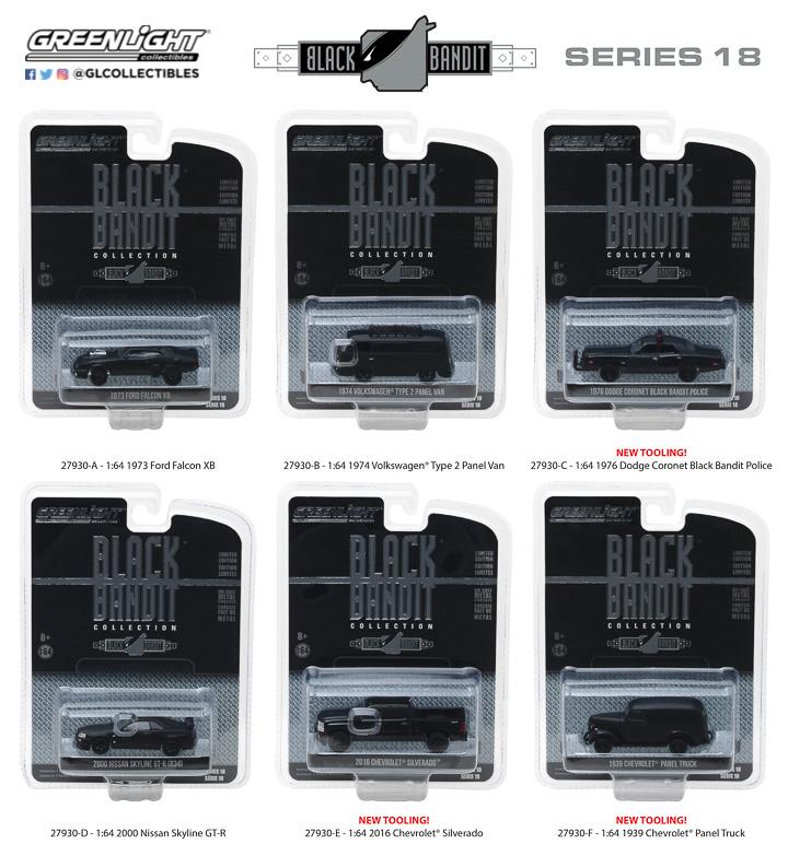 27930 - 1:64 Black Bandit Series 18