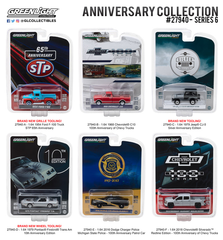 27940 - 1:64 Anniversary Collection Series 6