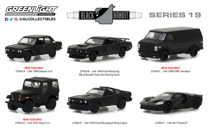 27950 - 1:64 Black Bandit Series 19