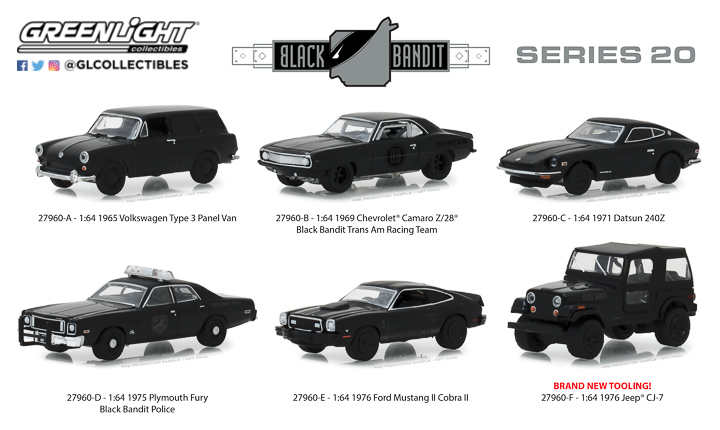 27960 - 1:64 Black Bandit Series 20