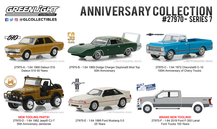 27970 - 1:64 Anniversary Collection Series 7