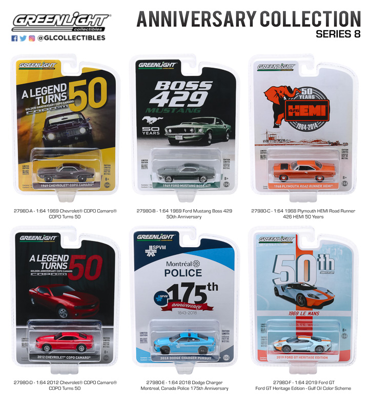 27980 - 1:64 Anniversary Collection Series 8