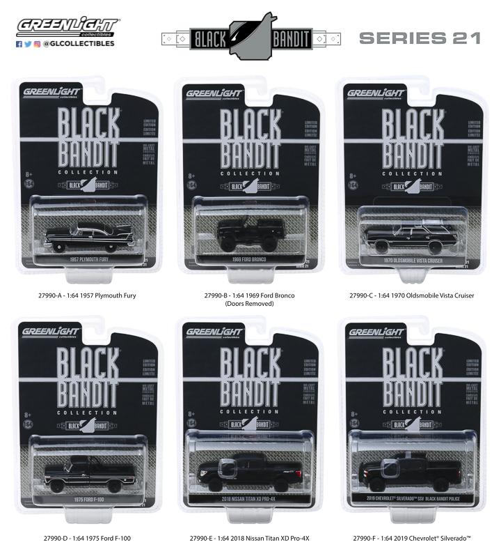 27990 - 1:64 Black Bandit Series 21