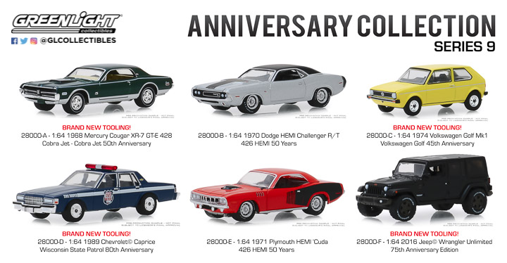 28000 - 1:64 Anniversary Collection Series 9