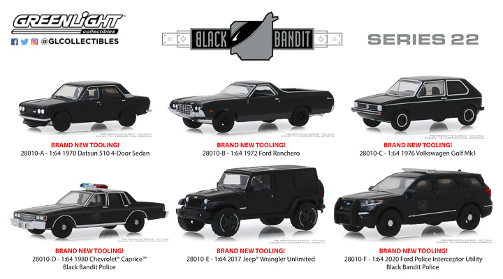 28010 - 1:64 Black Bandit Series 22