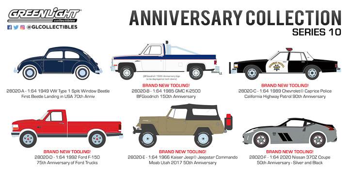 28020 - 1:64 Anniversary Collection Series 10