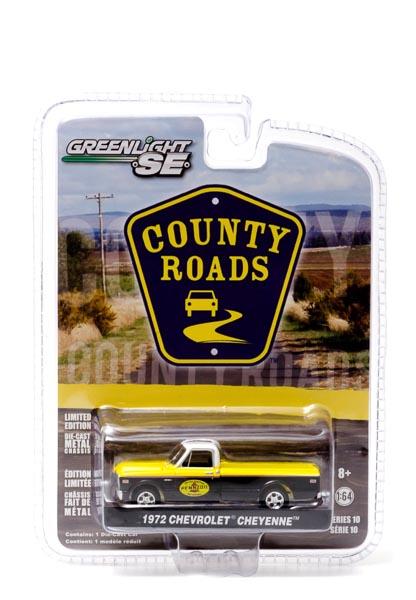 29770-C - 1:64 County Roads Series 10 - 1972 Chevrolet C-10 Truck Pennzoil (circa. 1972 Pennzoil logo)
