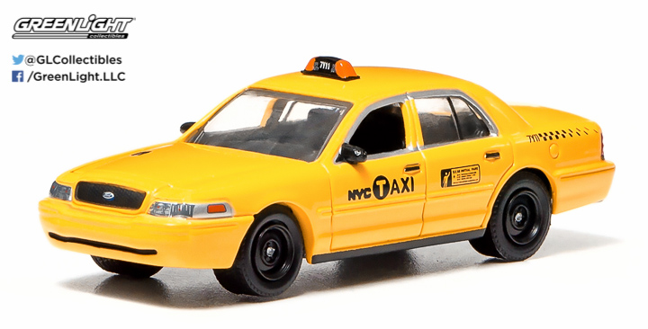29773 - 1:64 2011 Ford Crown Victoria NYC Taxi - 2011 Ford Crown Victoria NYC Taxi