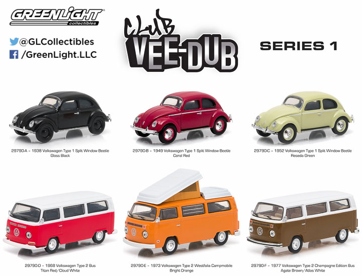 29790 - 1:64 Club V-Dub Series 1