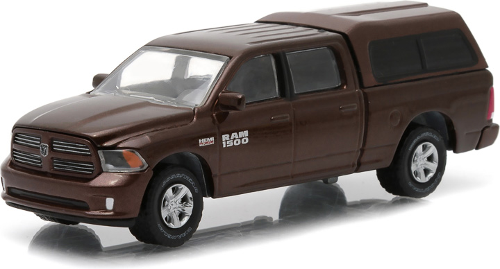 2014 Ram 1500 With Camper Shell