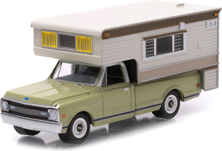 1969 Chevy C10 Cheyenne With Large Camper