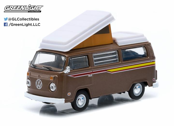 1972 Volkswagen Type 2 (T2B) Camper Van