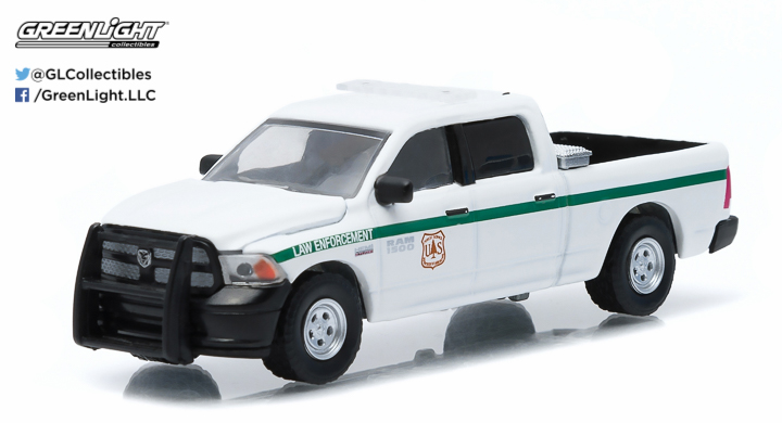 2014 Ram 1500 United States Forest Service (USFS) Police