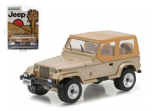 Item #29815 – 1:64 1993 Jeep Wrangler Sahara (Hobby Exclusive)