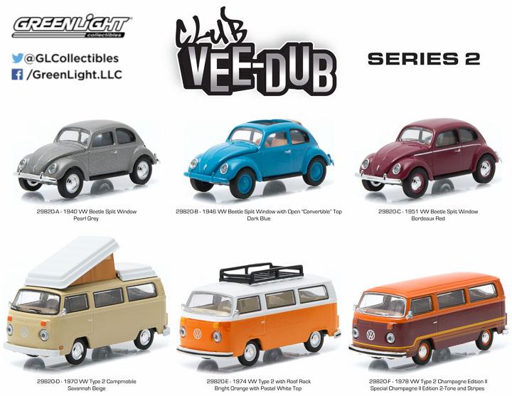 29820 - 1:64 Club Vee-Dub Series 2