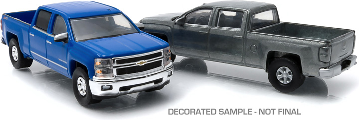 2014+ Chevrolet Silverado 1:64 firstcut Hobby Exclusive 2-Car Set