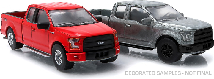 2015+ Ford F-150 1:64 firstcut Hobby Exclusive 2-Car Set