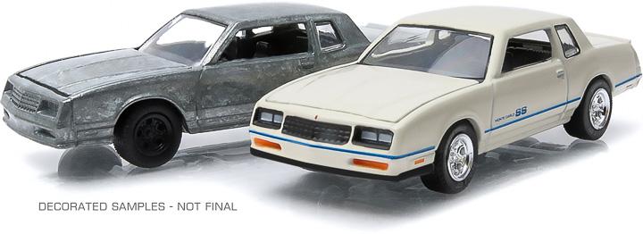1981-84 Chevrolet Monte Carlo 1:64 firstcut Hobby Exclusive 2-Car Set