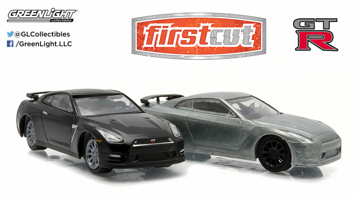 2007-14 Nissan Skyline GT-R (R35) 1:64 firstcut Hobby Exclusive 2-Car Set
