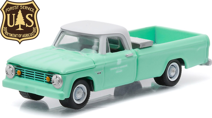 1965 Dodge D-100 U.S. Forest Service