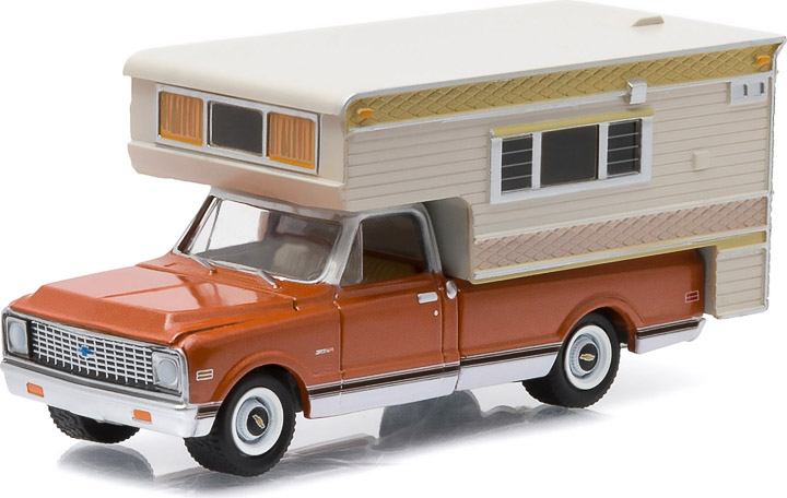 1971 Chevy C10 Cheyenne With Large Camper