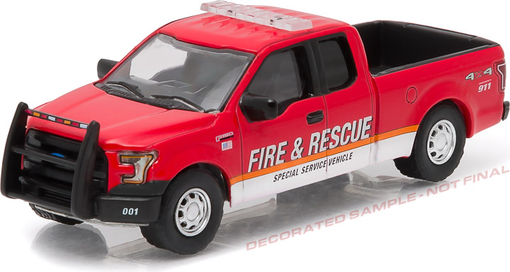 1:64 2015 Ford F-150 Fire & Rescue Special Service Vehicle (Hobby Exclusive)