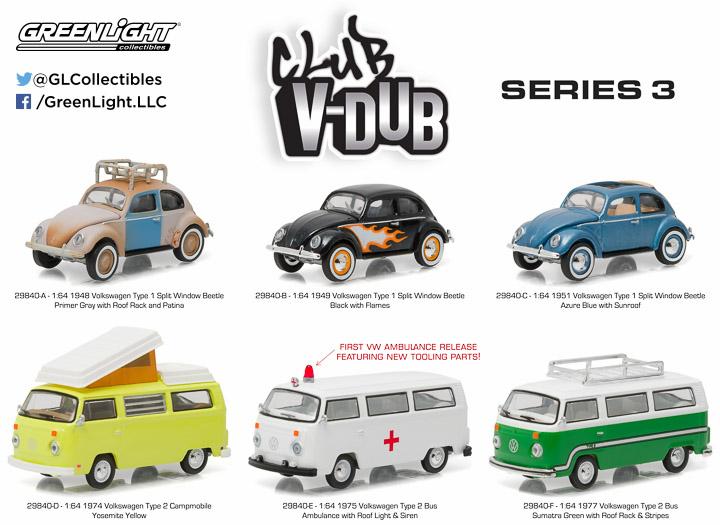 29840 - 1:64 Club Vee-Dub Series 3