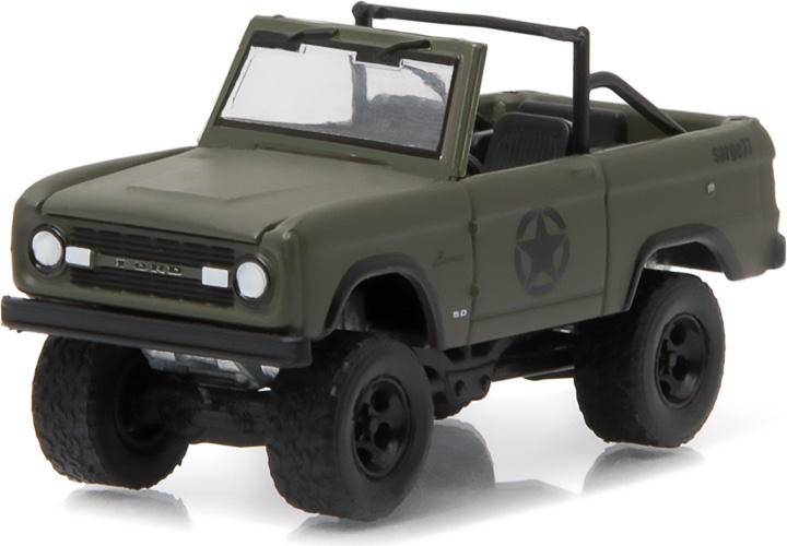 1:64 1977 Ford Bronco Military Tribute 'Sarge 77' (Hobby Exclusive)