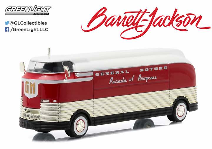 29843 - 1:64 1950 General Motors Futurliner Parade of Progress (Futurliner #11 March of Tools) - 1950 General Motors Futurliner Parade of Progress (Futurliner #11 March of Tools)