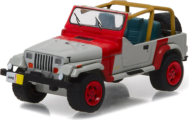 29856 - 1:64 1993 Jeep Wrangler YJ - 1993 Jeep Wrangler YJ