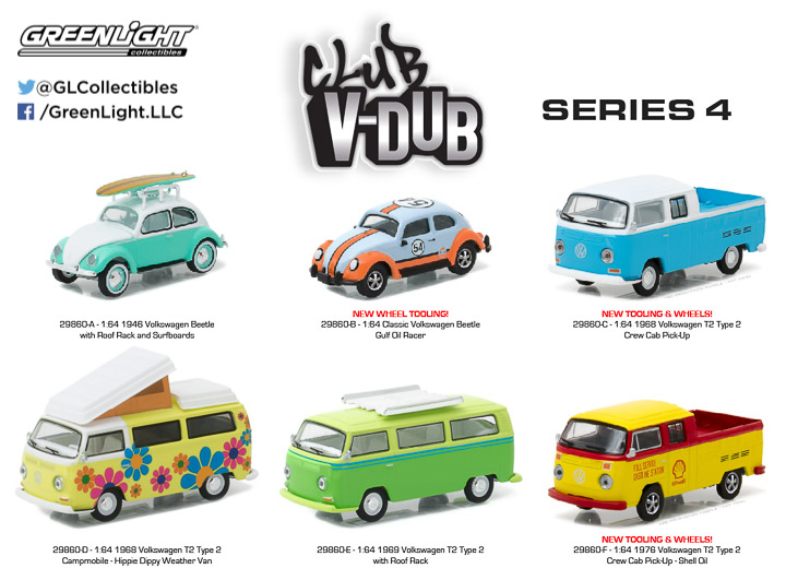 29860 - 1:64 Club Vee-Dub Series 4