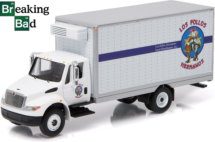 1:64 Breaking Bad (2008-13 TV Series) - 2013 International Durastar 'Los Pollos Hermanos' Box Van